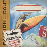 Surf with Caution Wall Art