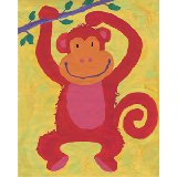 Swinging Monkeys Wall Art