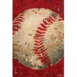 Vintage Baseball Wall Art Multiple Colors