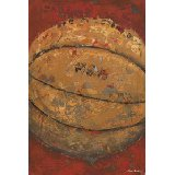 Vintage Basketball Wall Art Multiple Colors