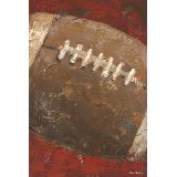 Vintage Football Wall Art Multiple Colors