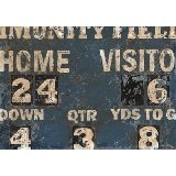 Vintage Score Board Wall Art