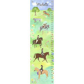 Canvas Horse Show Growth Chart