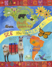 See The Americas Wall Art