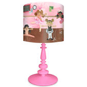 Oopsy Daisy Ballet Class Lamp Shade and Base
