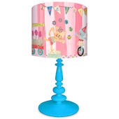 Oopsy Daisy Cotton Candy Circus Alphabet Lamp