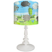 Oopsy Daisy Counting Sheep Blue Lamp Shade & Base