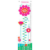 Afternoon Gossip Pink and Red Growth Chart
