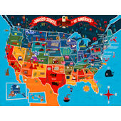 Big Wide World Wall Art Mural