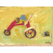 Bug by Trike Canvas Wall Art