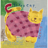 C is For Cat Canvas Wall Art