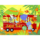 Jungle Tours Canvas Wall Art