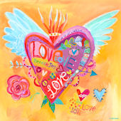 Love For All Canvas Wall Art