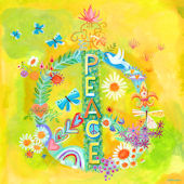 Peace For All Canvas Wall Art