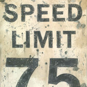 Speed Limit Wall Canvas Art