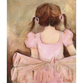 Sweet Ballerina Brunette Wall Art