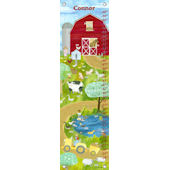 Farm Friends Canvas Growth Chart