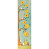 Flower Tree Friends Canvas Growth Chart