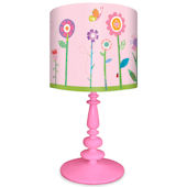Oopsy Daisy Flower Garden Lamp Shade and Base