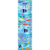 Friendly Fish Canvas Growth Chart