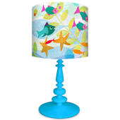 Oopsy Daisy Friendly Fish Lamp Shade and Base
