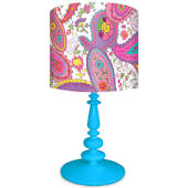 Oopsy Daisy It a Small World Pretty Paisley Lamp