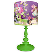Oopsy Daisy Slumbering Fairies Lamp Shade and Base
