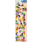 World of Wonders Pink Canvas Growth Chart