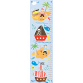 Collage Pirate Canvas Growth Chart