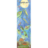 Canvas Backyard Bugs Growth Chart