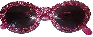 Hot Pink Bling Sunglasses