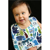 Blue Zoo Bib