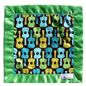 Groovy Guitar Lovey Blanket
