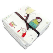 Spotted Owl Washcloth Set of 2
