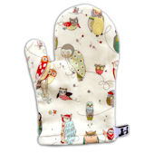Spotted Owl Bath Mitt
