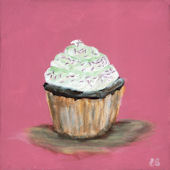 Hello Cupckae Classic  Party Sprinkles  Wall Art