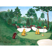 Gopher Golf Masters  Wall Art