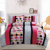 Dani Dot Hot Quilt Set