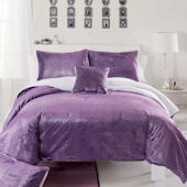 Sparkle Mink Purple Quilt Set