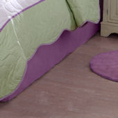 Dragonfly Butterfly Bed Skirt