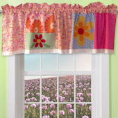 Olivia Pink Window Valance