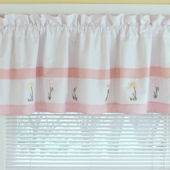 Tara Stripe Window Valance