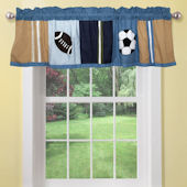 All State Sports Window Valance