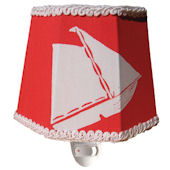 Red Playthings Hexagon Nightlight
