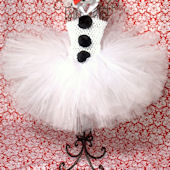 Let It Snow Frosty The Snow Man Tutu Dress
