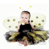 Posh Lil Bumble Bee Tutu Costume