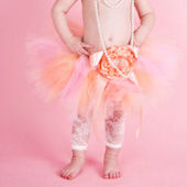 Peach Gardens Couture Tutu Skirt