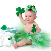 St Patricks Day Green Irish Tutu