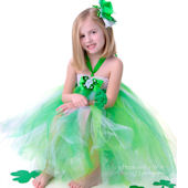 Emerald Dreams Couture St Patricks Tutu Dress
