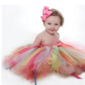 Party Bash Multi Colored Party Tutu